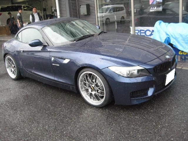 Bmw Z4 Bbs Rs Gt 19インチ 8 5j Dbk P 装着ギャラリー カーポートマルゼン